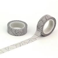"""""""Moderne"""" - Making tape noir et blanc"""