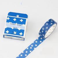 """Vintage"" - Masking tape fleurie"