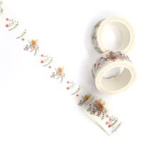 """Spring"" - Masking tape avec des fleurs"