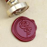 """""""Gorgeous"""" - Sceau avec une rose"""