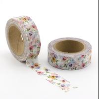 """""""Pensées"""" - Masking tape avec des fleurs"""