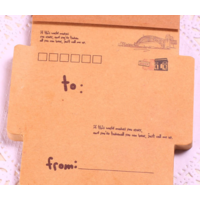 """Air mail"" - Bloc notes de petites enveloppes ""France"""