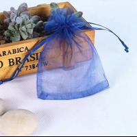 """""""Organza"""" - 25 pochettes bleu marine"""