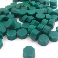 """""""Vert"""" - 100 granulés de cire pour sceau"""