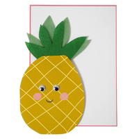 """""""Ananas"""" - Carte pour une fête"""