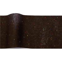 """""""Diamant"""" - 5 feuilles de papier de soie noir et points multicolores"""