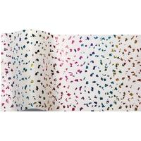 """""""Arc-en-ciel"""" - 5 feuilles de papier de soie avec incrustations"""