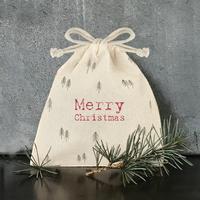 """""""Christmas"""" - Jolie petite poche en coton"""