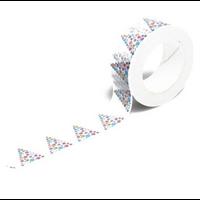 """Noël"" - Masking tape avec des sapins"