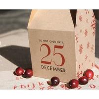 """""""Noël"""" - Boite cadeau kraft"""