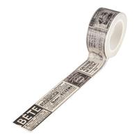 """""""Journal"""" - Masking tape rétro"""