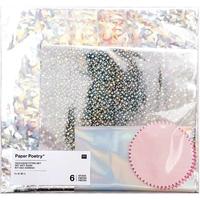 Kit de 6 sacs cadeaux holographiques
