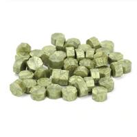 """""""Seal"""" - 100 granulés de cire vert olive"""