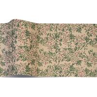 """""""Nature"""" - 5 feuilles de papier de soie avec du houx"""