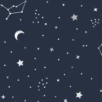 """""""Sky"""" - 5 feuilles de papier de soie nuit étoilée"""
