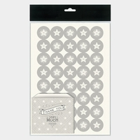 """Thank you"" - 12 sachets en papier et 40 stickers assortis"