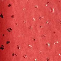 """""""Rouge"""" - 5 feuilles de papier de soie rouge avec éclats brillants"""
