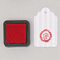 """""""DIY"""" - Petit encreur rouge pour tampon"""