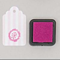 """""""DIY"""" - Petit encreur rose pour tampon"""
