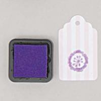 """""""DIY"""" - Petit encreur violet pour tampon"""