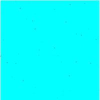 """""""Diamant"""" - 5 feuilles de papier de soie turquoise et paillettes"""