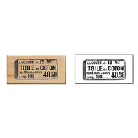 """""""Vintage"""" - Tampon Toile de coton"""