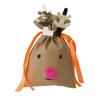 """Noël"" - Joli sac renne GM"