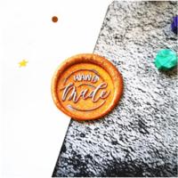 """""""Fait main"""" - Joli sceau Handmade"""