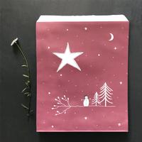 """""""Snow"""" - 10 grands sachets papier"""