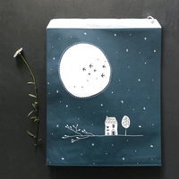 """""""Sky"""" - 10 grands sachets papier"""