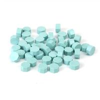 """Pastel"" - 100 granulés de cire bleu pastel"