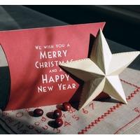 """Pillow"" - Boite cadeau Noel"