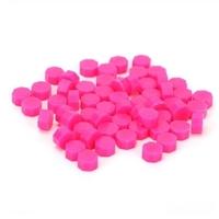 """""""Fluo"""" - 100 granulés de cire rose pour sceau"""