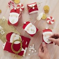 Kit calendrier de l'Avent Papa Noël