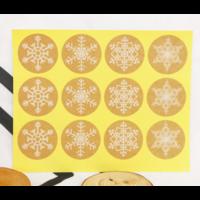 """""""Noël"""" - 120 autocollants flocons de neige"""