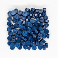 """""""Seal"""" - 100 granulés de cire bleu nuit pour sceau"""