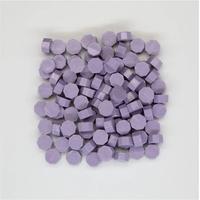 """""""Mat"""" - 100 granulés de cire violette pour sceau"""