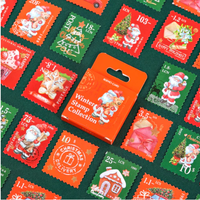 """""""Mail"""" - 45 jolis petits timbres de Noël"""