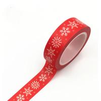 """Noël"" - Masking tape flocons de neige"