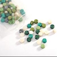 """""""Vert"""" - Mélange de 100 granulés de cire"""