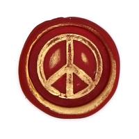 """""""Vintage"""" - Sceau à cacheter Peace and Love"""