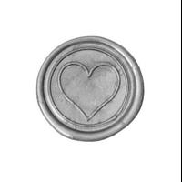 """""""Love"""" - Sceau à cacheter avec un coeur"""