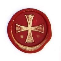 """""""Vintage"""" - Sceau à cacheter Croix des Templiers"""