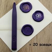 """""""Luxe"""" - Bâton de cire violette de grande qualité"""