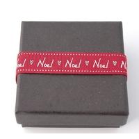 """Noël"" - 3m de ruban rouge"