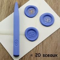 """""""Luxe"""" - Bâton de cire bleu ciel de grande qualité"""