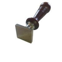 """""""Pastille"""" - Sceau vierge carré 25mm"""