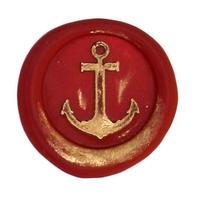 """""""Vintage"""" - Sceau avec une ancre de marine"""
