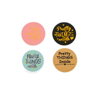 """""""Snail mail"""" - 10 stickers """"Pretty things inside"""""""