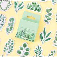 """Plant"" - 45 mini autocollants nature"